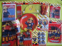 Fireman Sam Badges for party bags.