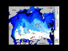 @ablorg Dramatic Arctic sea ice loss video showing changes in summer ice coverage from 1979 to 2012