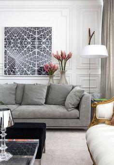 Aqui, confira inspiração de sobra para valorizar a sala, combinando o sofá com quadros, iluminação e outros elementos