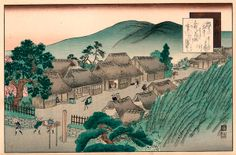 51º estación: Ishibe Poster, Painting, Parking Lot, Voyage, Painting Art, Paintings, Painted Canvas, Billboard, Drawings