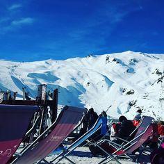A peine 40 min de ski et déjà en terrasse... ça sent mauvais pour le ski aujourd'hui !  Mais je profite quand même du beau soleil  #cauterets #jouroff by broutill3
