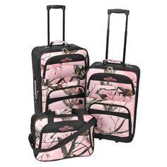 Realtree 3 Piece Luggage Set: Shopko