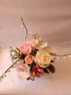Cold Porcelain by Natasha Waldron Cold Porcelain, Floral Wreath, Crown, Wreaths, Decor, Floral Crown, Corona, Decoration, Door Wreaths