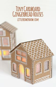 15 Gingerbread Houses to Make with Kids