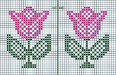 Mini Cross Stitch, Beaded Cross Stitch, Cross Stitch Borders, Cross Stitch Kits, Cross Stitch Charts, Cross Stitching, Cross Stitch Embroidery, Embroidery Patterns, Tapestry Crochet Patterns