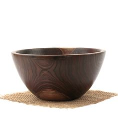 """Wooden bowl for potion mixing (with a wooden spoon, or stick to stir) medium size- able to fit in hands comfortably  (8"""" wide)"""