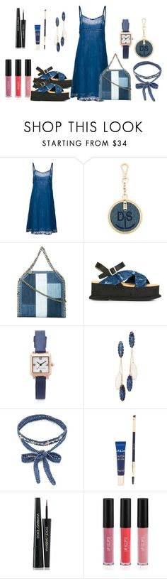 """Blue Likes"" by hillarymaguire ❤ liked on Polyvore featuring Dosa, Diesel, STELLA McCARTNEY, MM6 Maison Margiela, Marc Jacobs, Theia Jewelry, Chan Luu, Stila, Dolce&Gabbana and Sigma"
