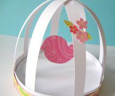 Craftberry Bush: sweet spring bird cage...