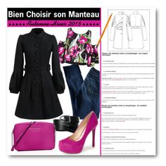 """""""Bien Choisir son Manteau"""" by drinouchou ❤ liked on Polyvore featuring 7 For All Mankind, Clover Canyon, L.L.Bean, Jessica Simpson and MICHAEL Michael Kors"""
