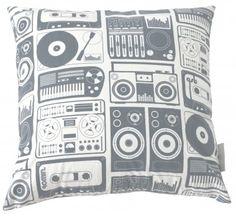 Aimee Wilder Designs Pillow in Steel Grey - Steel Grey Pillow $59
