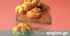 Σουδάκια από την Αργυρώ Μπαρμπαρίγου | Συνταγή για υπέροχαΣου,γλυκά καιαλμυρά. Εκτός από σουδάκια, φτιάξτε και εκλεράκια με την ίδια ζύμη βασική ζύμη