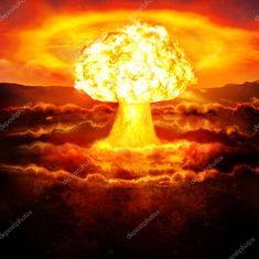 Scarica - Potente esplosione della bomba atomica nel deserto. Guerra nucleare — Immagini Stock Bomba Nuclear, Nuclear Test, Nuclear Bomb, Mushroom Cloud, Destroyer Of Worlds, Demon Art, Fantasy Castle, End Of Days, Wallpaper Space