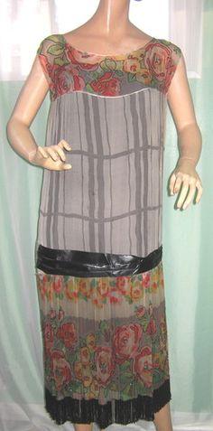1920s beades dress
