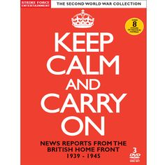 Keep Calm and Carry On DVD
