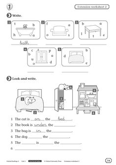Letter Worksheets, Vocabulary Worksheets, Worksheets For Kids, Kindergarten Worksheets, English Vocabulary, Learning English For Kids, Kids English, English Lessons, Learn English