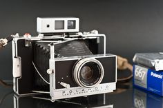 Polaroid Land Camera 180. One day you will be mine baby.