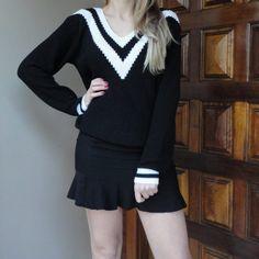 suéter-tricô-decotev-preto-banco-listas-inverno-2016-comprar