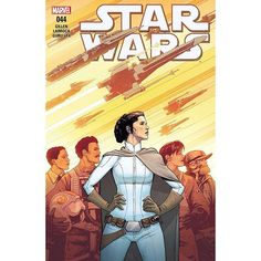 Star Wars (2015-) #44 Written by Kieron Gillen Art by Salvador Larroca Cover by David Marquez THE REBELLION NEEDS YOU! The Empire takes from all of us  our freedom our dignity our hopes and for some even our lives. The Rebel Alliance fights to take back our galaxy from the forces of oppressionbut we need your help! Be a part of the solution  JOIN THE REBELLION TODAY!