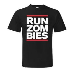 Run Zombies T Shirt - DNTStore.com
