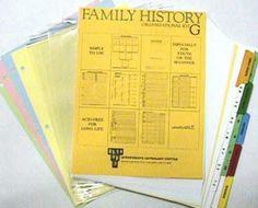 Family History Starter Kit