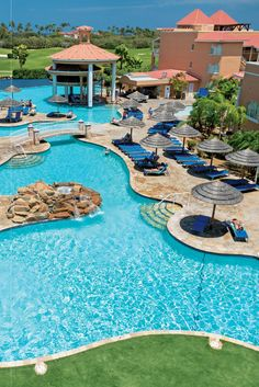 The 391 suites at Divi Village are located in multiple buildings, all anchored by a curvaceous central pool. Divi Village Golf & Beach Resort (Oranjestad, Aruba) - Jetsetter