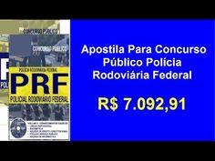 Apostila Concurso Polícia Rodoviária  Federal Policial Rodoviário Federa...