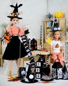 Barbie Halloween, Halloween This Year, Toys Photography, Halloween Decorations, Harajuku, Blond, Sage, Dolls, Instagram