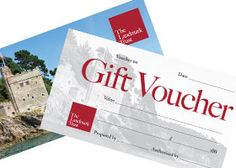 Landmark Gift Vouchers  Something towards a break in a unique historic property