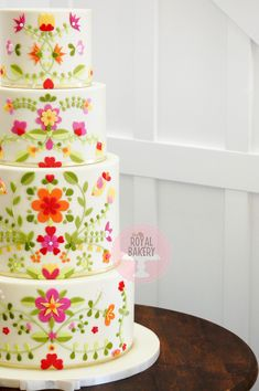 Mexican Embroidery, Custom Cakes, Bakery, Desserts, Food, Personalized Cakes, Tailgate Desserts, Deserts, Personalised Cakes
