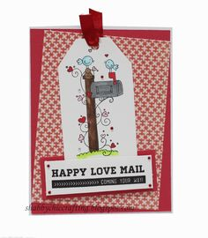 Valentine's Day Card using Taylored Expressions You've Got Mail