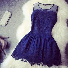 ooh #royal #blue #dress. I love those royal blue dresses!
