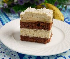 Ciasto czekoladowe z bananami i karmelem Vanilla Cake