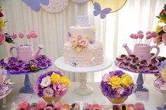 Pastel Garden birthday party via Kara's Party Ideas KarasPartyIdeas.com Printables, favors, cake, supplies, food, and more! #gardenparty (15)
