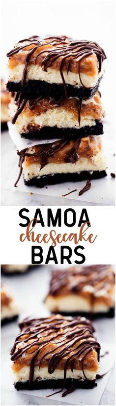 nice Samoa Cheesecake Bars   The Recipe Critic
