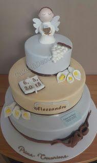 Cakes\u0026Decò Torta scenografica per la Prima Comunione