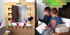 cardboard block - kids