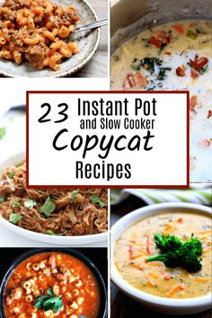 Instant Pot and Slow Cooker Copycat Recipes - 365 Days of Slow Cooking and Pressure Cooking Instant Pot Pressure Cooker, Pressure Cooker Recipes, Pressure Cooking, Slow Cooking, Instant Pot Multi Cooker, Cooking Venison, Instant Cooker, Real Cooking, Cooking Corn