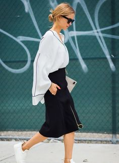 Get the Perfect Black-and-White Outfit
