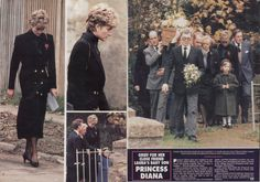Princess Diana's Burial Dress Photo | Princess Diana Funeral Images | TheCelebrityPix