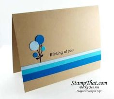 """Bright Blossoms"" card"