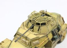 sd.kfz 222 a painting of DAK(hobbyboss) | Military Modelling