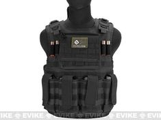 Matrix Tactical Systems Light Duo Strap Tactical Field Vest - Black, Tactical Gear/Apparel, Body Armor & Vests, Black - Evike.com Airsoft Superstore