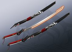 Warframe Katana Design by Revincproductions.deviantart.com on @deviantART