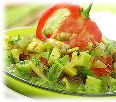 venezuela recipes pinterest | Guasacaca picada. | Venezuelan Food | Pinterest