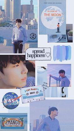 56 ideas for jungkook aesthetic wallpaper lockscreen Aesthetic Pastel Wallpaper, Aesthetic Wallpapers, Bts Boys, Bts Bangtan Boy, Namjoon, Taehyung, Look At The Moon, Army Wallpaper, Bts Backgrounds