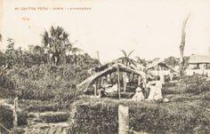 Noria - Grupo de lavanderas en la noria. Iquitos [fotografía]