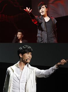 Park Jung Min shows dual performance power at his 'Face Off' Japanese concert