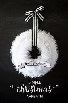 Easy Christmas Wreath