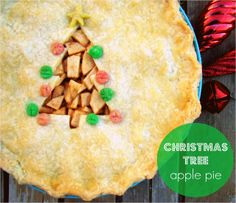Family Feedbag: Christmas tree apple pie ~ oh what an inspiration to make this! Check out her other 'seasonal' looking pies too!
