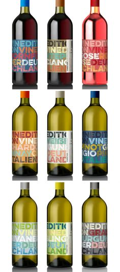 Vinedition Gastronomy Wine Edition packaging designed by DAC   design am chiemsee